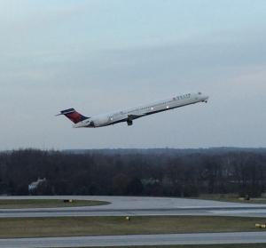 Delta takes off