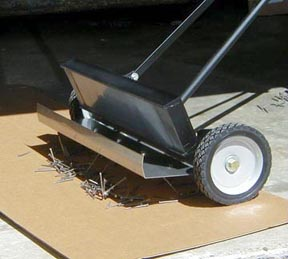 magnetic FOD sweeper